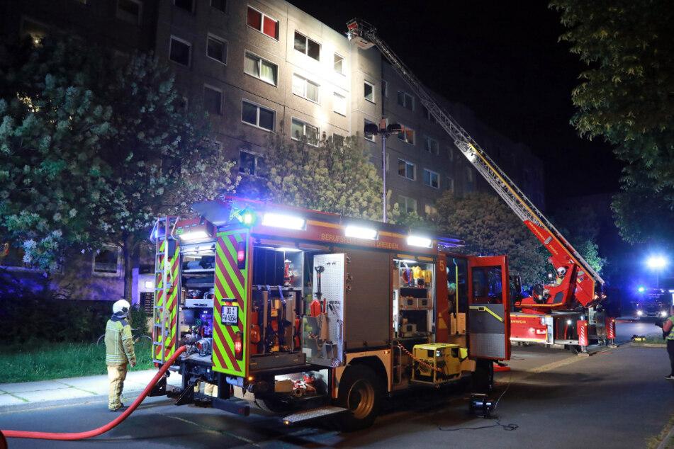 Die Feuerwehr musste im Mai 2018 zum Otto-Reinhold-Weg ausrücken.