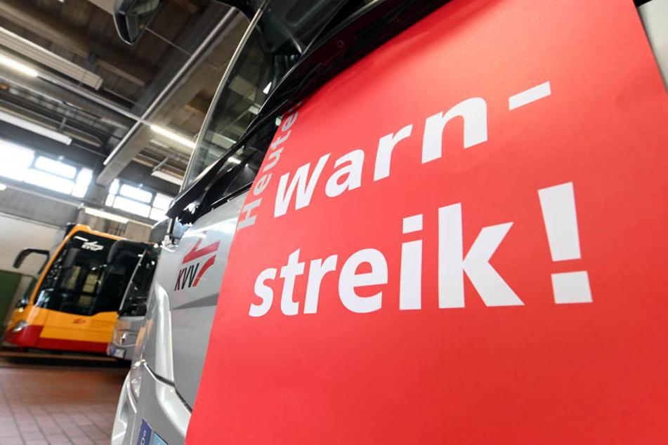 Warnstreiks im ÖPNV in Bayern: Erhebliche Einschränkungen in München