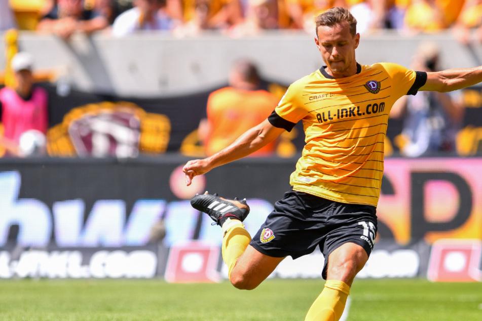 Er macht weiter! Chris Löwe will mit Dynamo in der 3. Liga möglichst oben mitspielen.