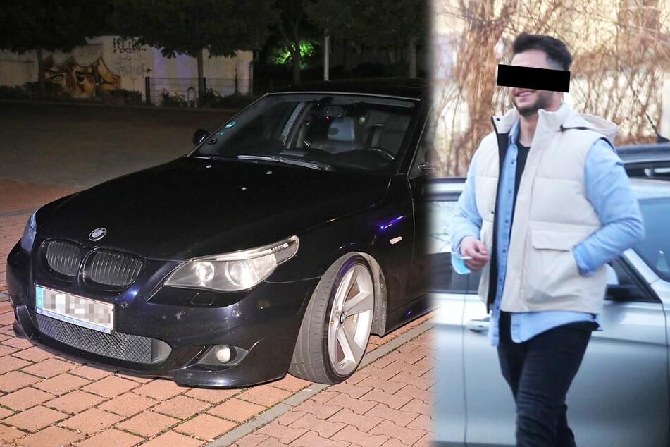 Auch für den Fahrer des BMWs liegt nun ein Haftbefehl vor.