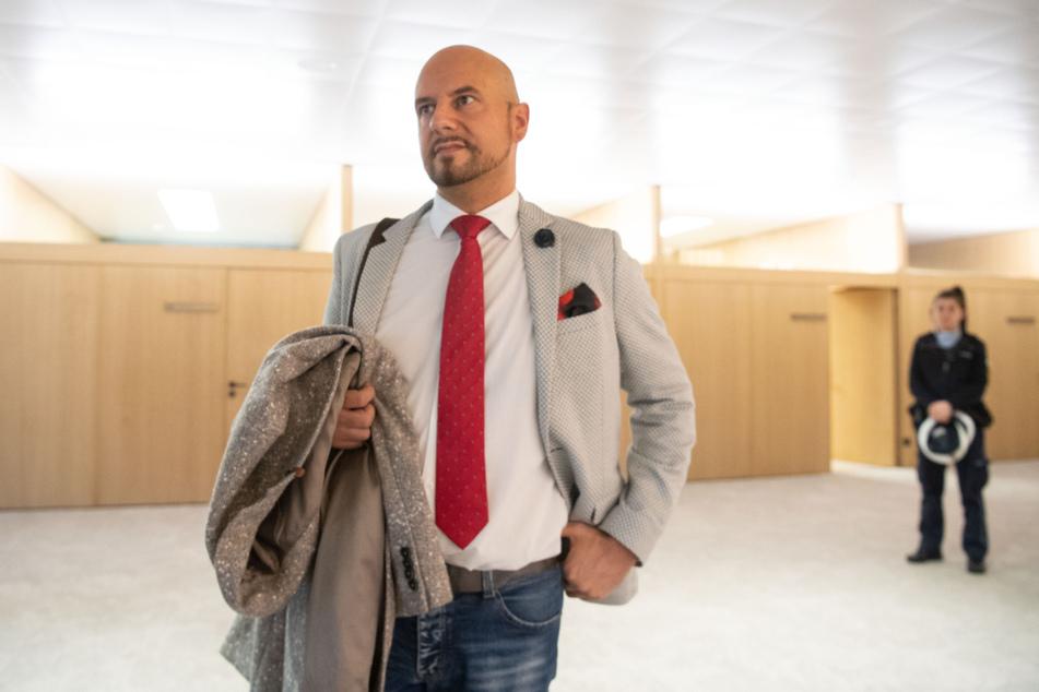 Stefan Räpple (40) sorgte früher im Stuttgarter Landtag regelmäßig für Aufsehen. (Archiv)