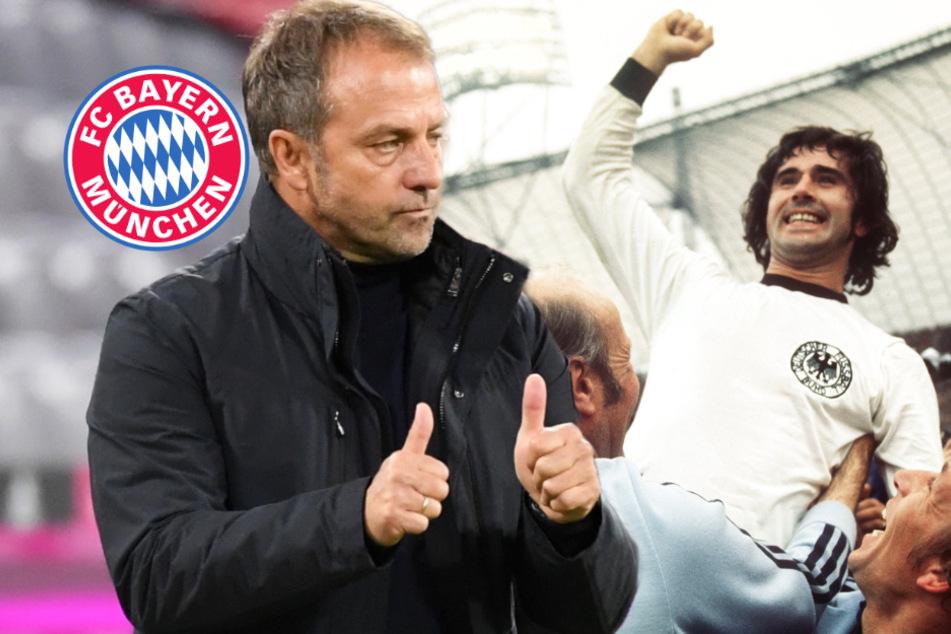 """""""Der geilste Kicker"""": Hansi Flick rühmt Gerd Müller"""