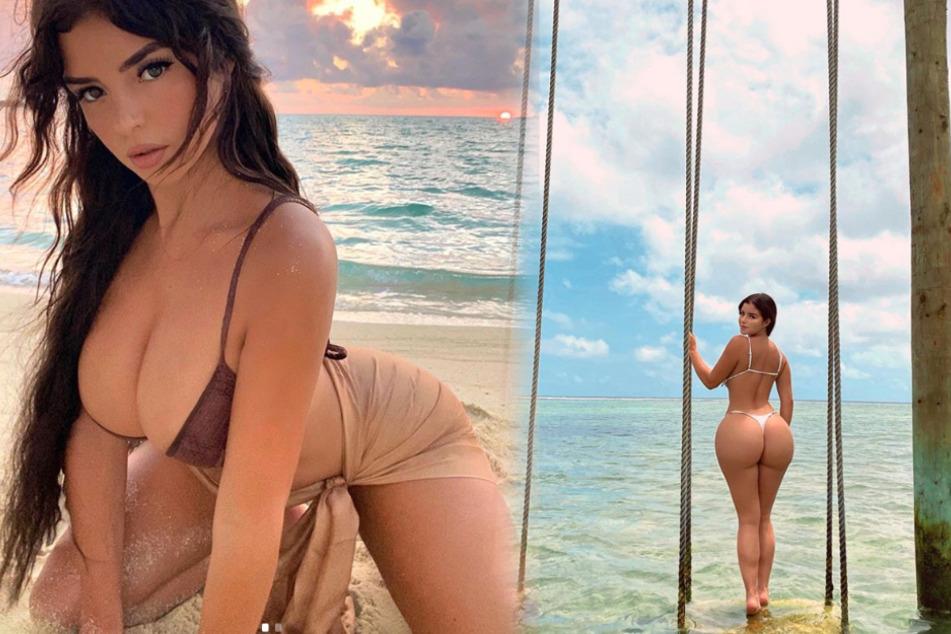 """""""Booty booty"""": Demi Rose versetzt Fans mit diesem Anblick in Ekstase"""