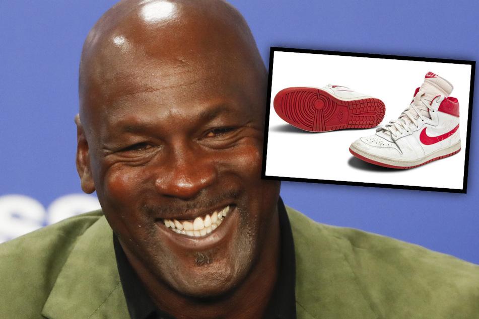 Irre Summe! Turnschuhe von Michael Jordan vor Versteigerung