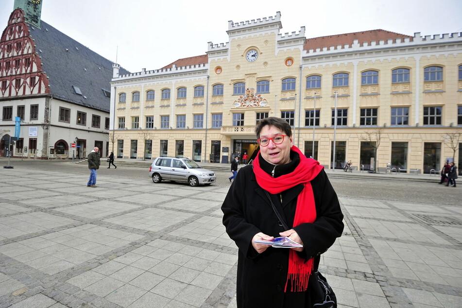Ute Brückner (63, Linke) setzt sich gegen die Abschaffung des kostenfreien Vorschuljahres in Zwickau ein.