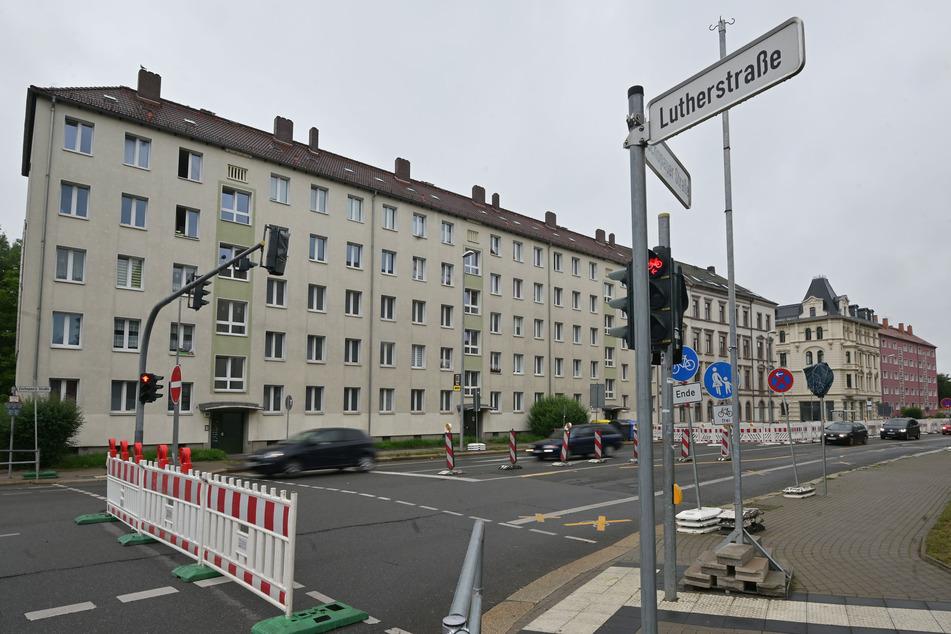 Die Zschopauer Straße muss zwischen Luther- und Ritterstraße voll gesperrt werden.