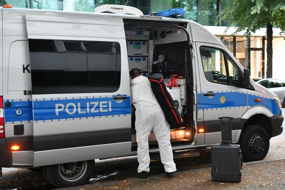 Die Polizei sicherte Spuren.