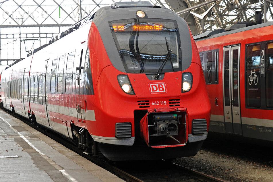 Der Vorfall geschah in einem Regionalexpress der Deutschen Bahn. (Symbolbild)