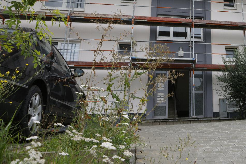 Die Polizei musste sich gewaltsam Zutritt zu der Wohnung des streitenden Paares verschaffen.