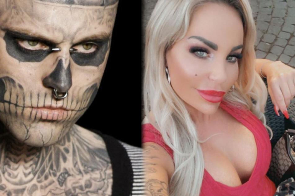 """Gina-Lisa Lohfink weint wegen Kaktus-Tattoo, doch was hat """"Zombie Boy"""" damit zu tun?"""