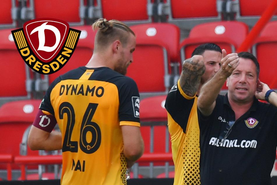 Dynamo schuftet ab heute im Trainingslager: Coach Kauczinski und die K-Frage
