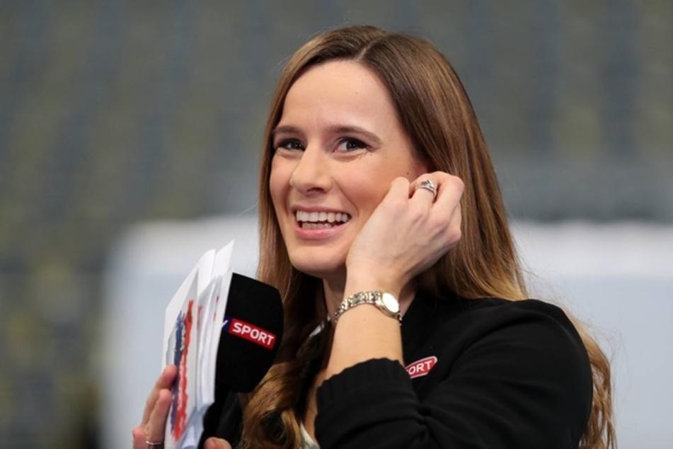 Christina Rann (38) ist die neue Stadionsprecherin beim Fußball-Zweitligisten Hamburger SV.