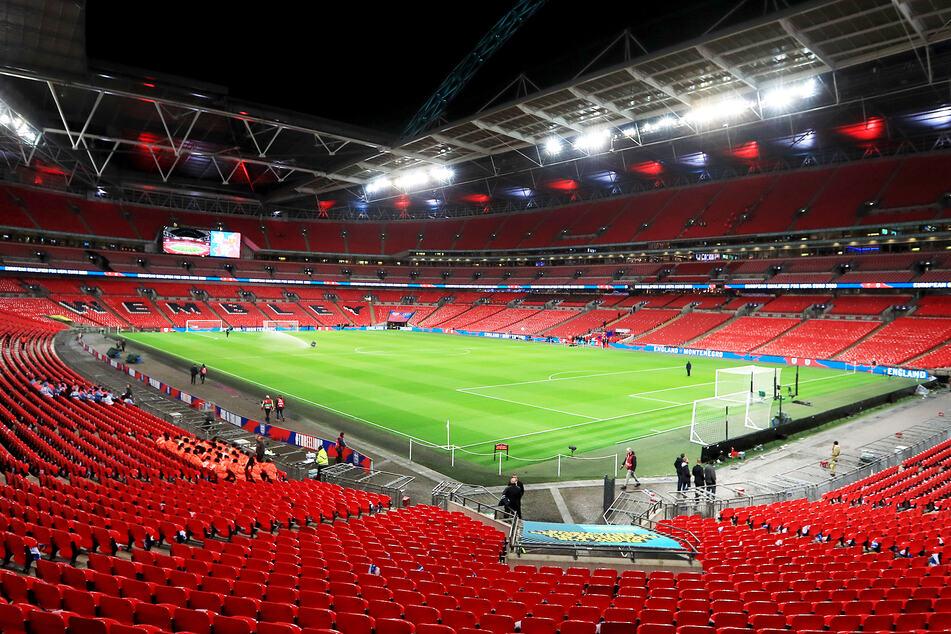 Im Wembley-Stadion findet am 11. Juli das EM-Finale statt.