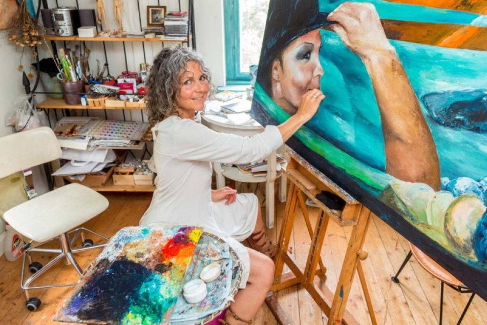 Diese Radebeuler Malerin mag's sexy