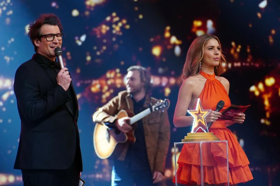 Victoria Swarovski (27) moderierte zum ersten Mal gemeinsam mit Daniel Hartwich (42) die diesjährige Supertalent-Staffel.