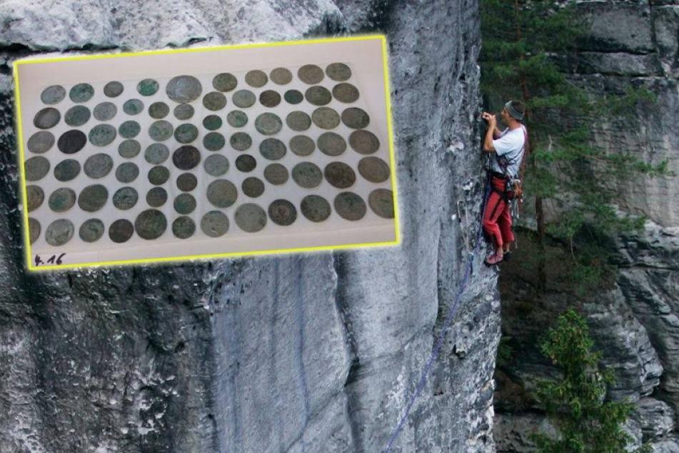 Über 300 Jahre alt! Kletterer findet diesen Schatz in der Sächsischen Schweiz