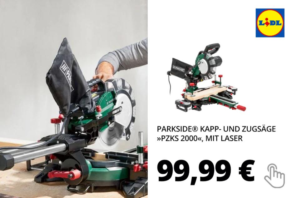 Kapp- und Zugsäge »PZKS 2000«