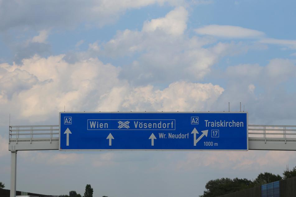 Der Unfall passierte in Österreich auf der A2 bei Vösendorf. (Symbolbild)