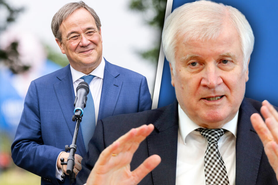 "Seehofer lobt Laschet: ""Aus diesem Holz werden Kanzler gemacht"""