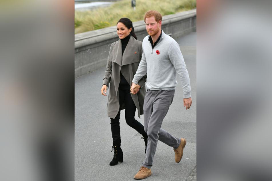 Meghan und Harry dürften von den krassen Anschuldigungen nicht gerade begeistert sein.