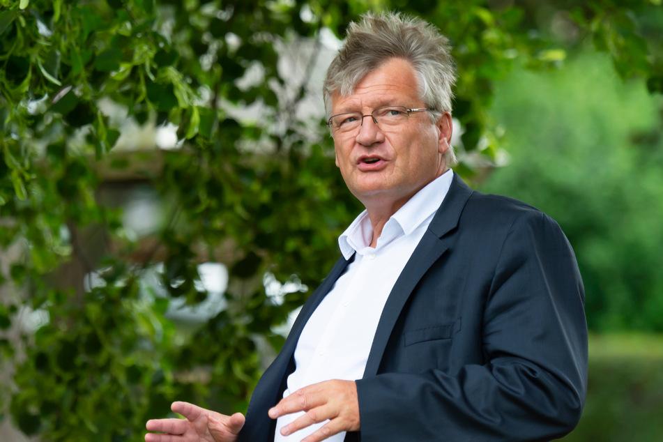 AfD-Bundessprecher Jörg Meuthen warnte jetzt auf Facebook.