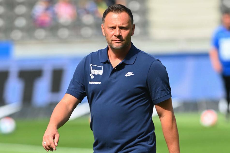 Hertha-Coach Pal Dardai (45) geben die beiden Auftaktniederlagen anscheinend noch keinen Anlass zur Sorge.