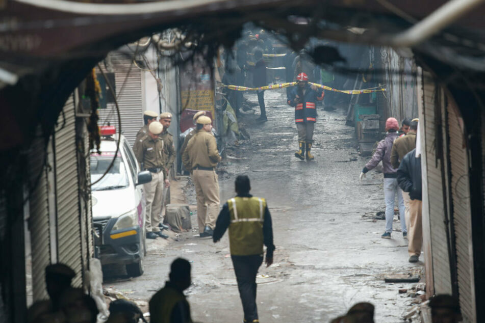 Indischer Bundesstaat Andhra Pradesh: Mehrere Tote bei Gasunglück in Chemiefabrik - Panorama - Gesellschaft