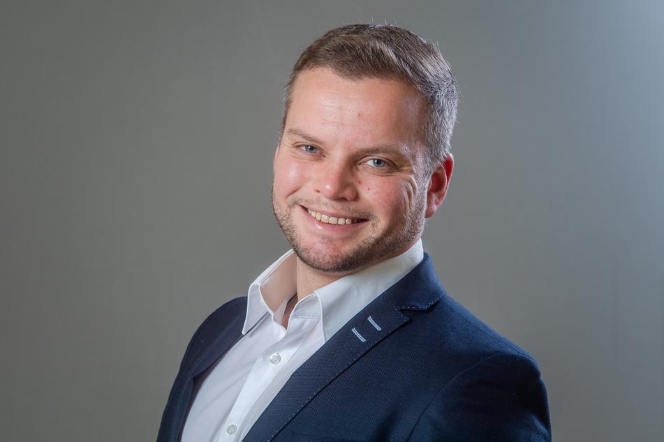 CDU-Stadtrat und Polizist Michael Specht (35) versicherte, dass keine einzelnen Gesichter wegen Corona-Verstößen verfolgt werden.