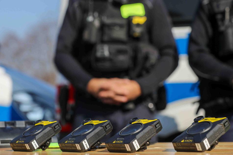 So sehen die Körperkameras der Polizei aus.