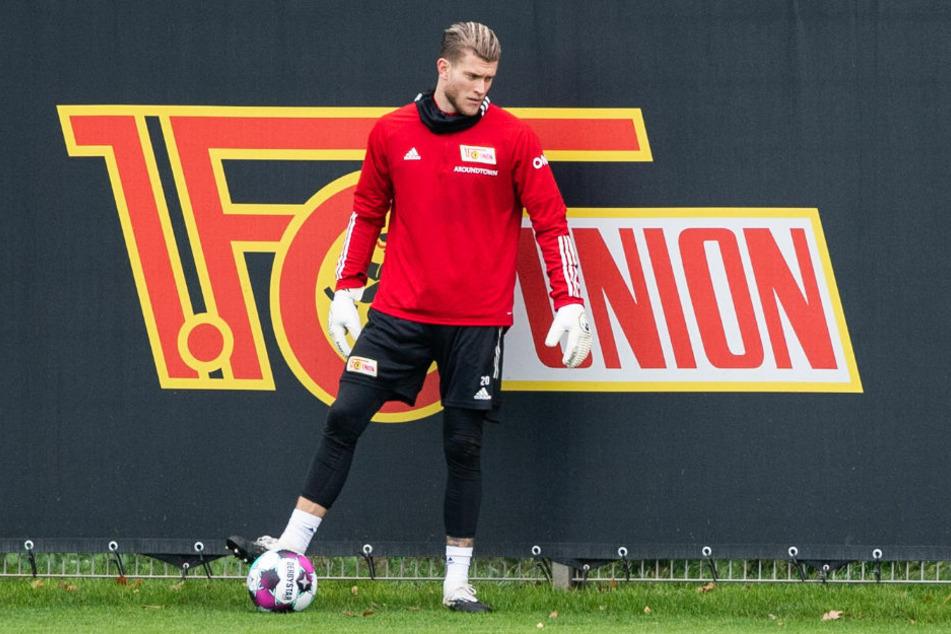 Union-Keeper Loris Karius (27) musste das Training der Eisernen am Mittwoch vorzeitig abbrechen und droht für das Spiel gegen den SC Freiburg auszufallen.