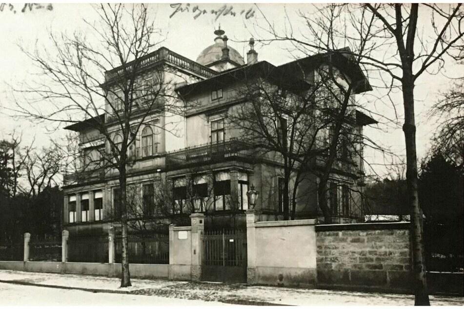 Anfang des 20. Jahrhunderts war das umstrittene Haus ein Schmuckstück.