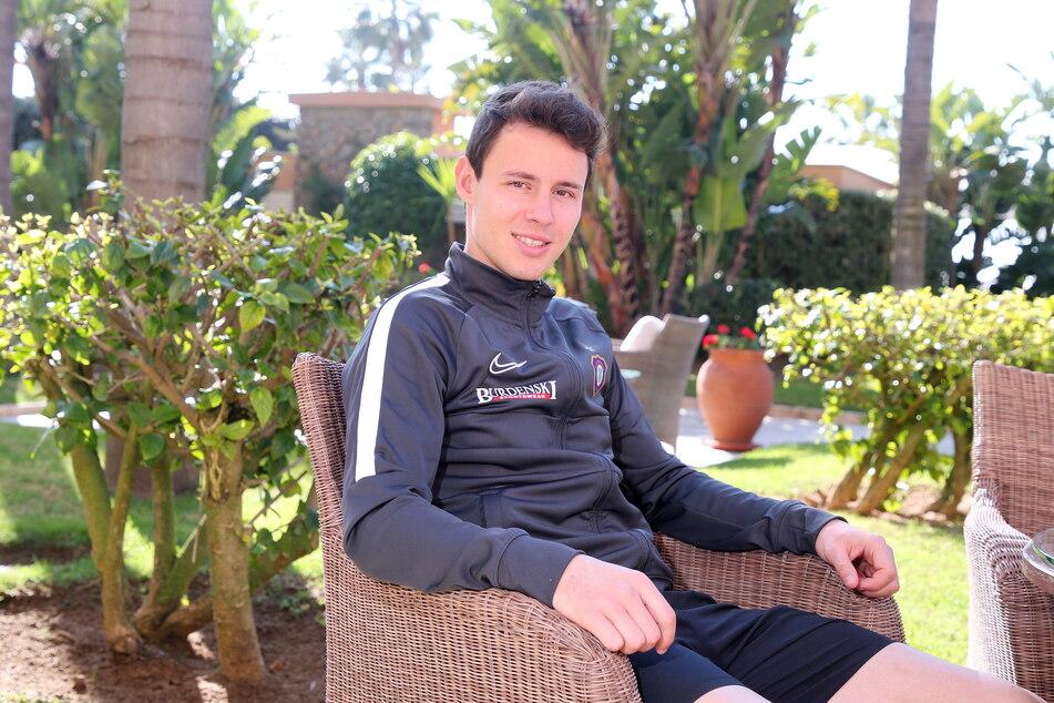 Clemens Fandrich (30) wechselte im Januar 2015 von RB Leipzig nach Aue, ging danach im Mai für ein Jahr nach Luzern, kam 2016 zurück - und blieb.