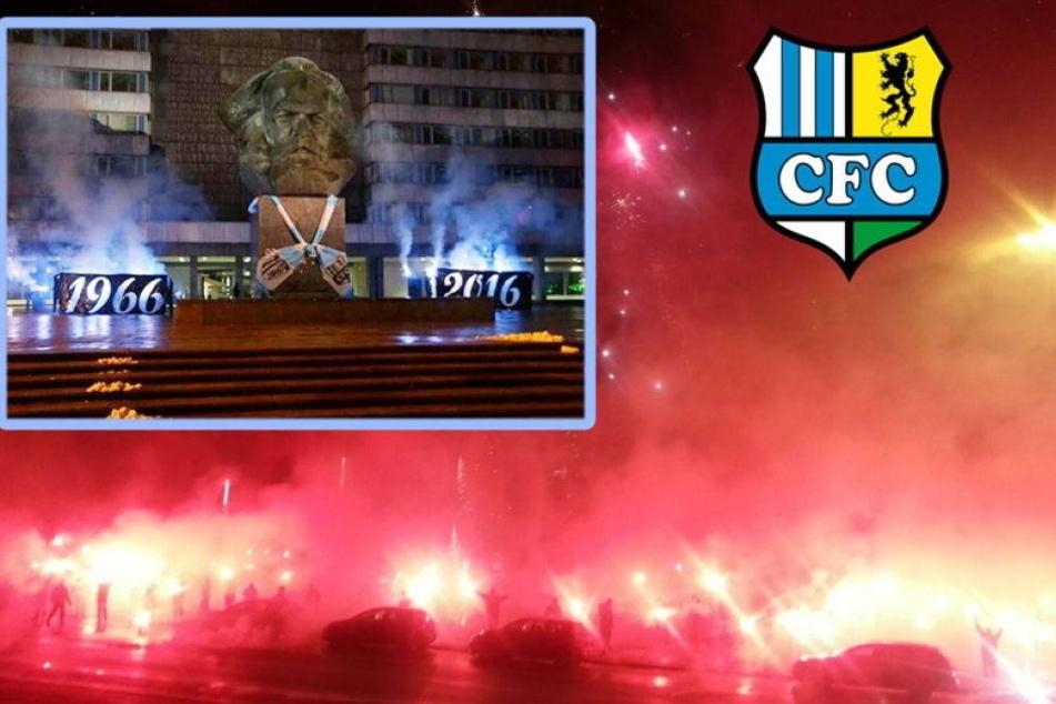 Irre Pyro-Show zum CFC-Geburtstag!