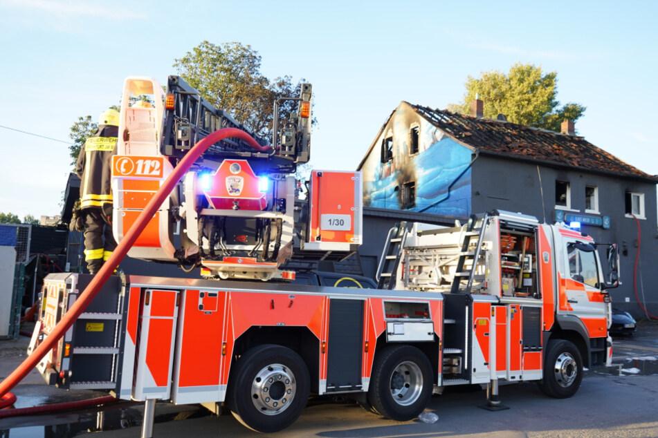 """Beliebtes Szene-Restaurant """"Blaues Wasser"""" durch Feuer komplett zerstört!"""