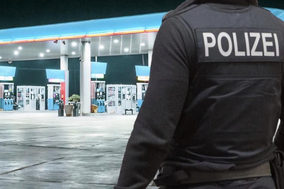 Mann überfällt Tankstelle im Leipziger Norden und flüchtet