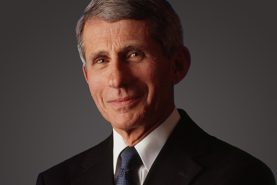 Dr. Anthony Fauci received his first dose of the Moderna vaccine on Tuesday.