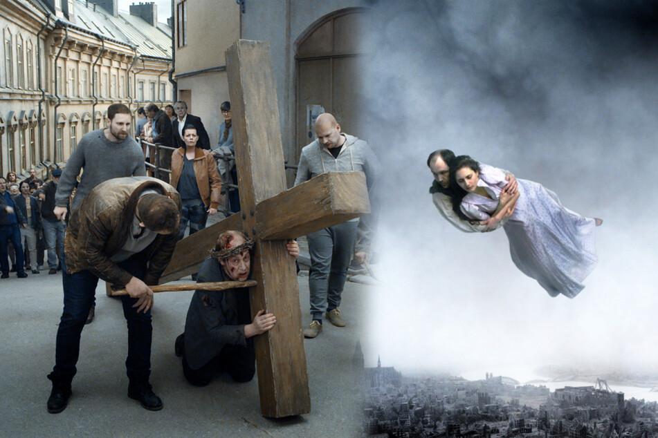 """""""Über die Unendlichkeit"""": Mann ohrfeigt seine Frau öffentlich im Supermarkt!"""