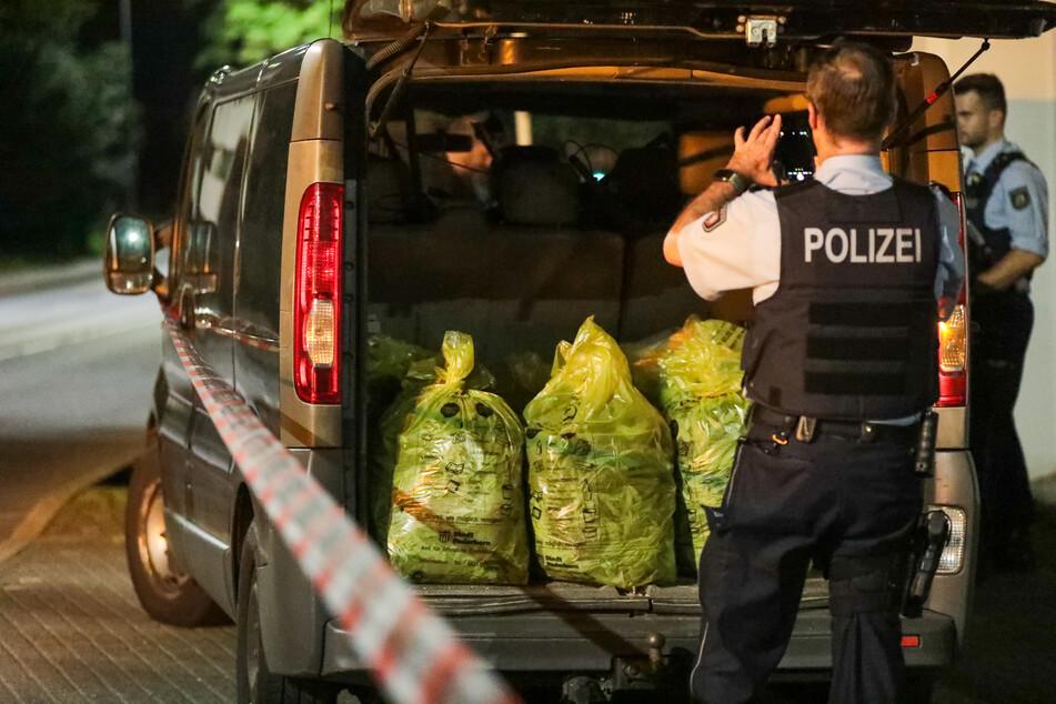 Die Kriminalpolizei fand in beiden Wohnungen insgesamt 1200 Cannabispflanzen.