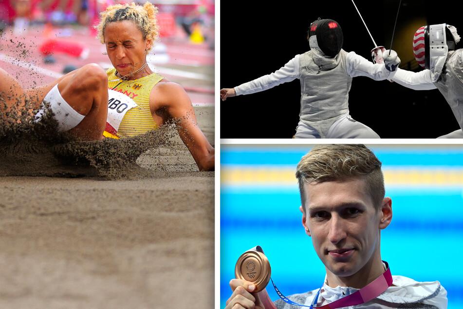 Das war die Olympia-Nacht: Schwimm-Bronze und erneute Fechter-Enttäuschung