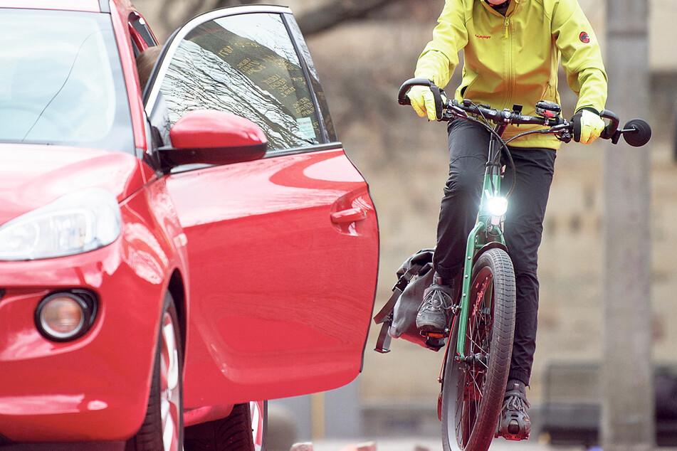 Im Auftrag der Stadt wird derzeit ein Konzept gegen Dooring-Unfälle erarbeitet.