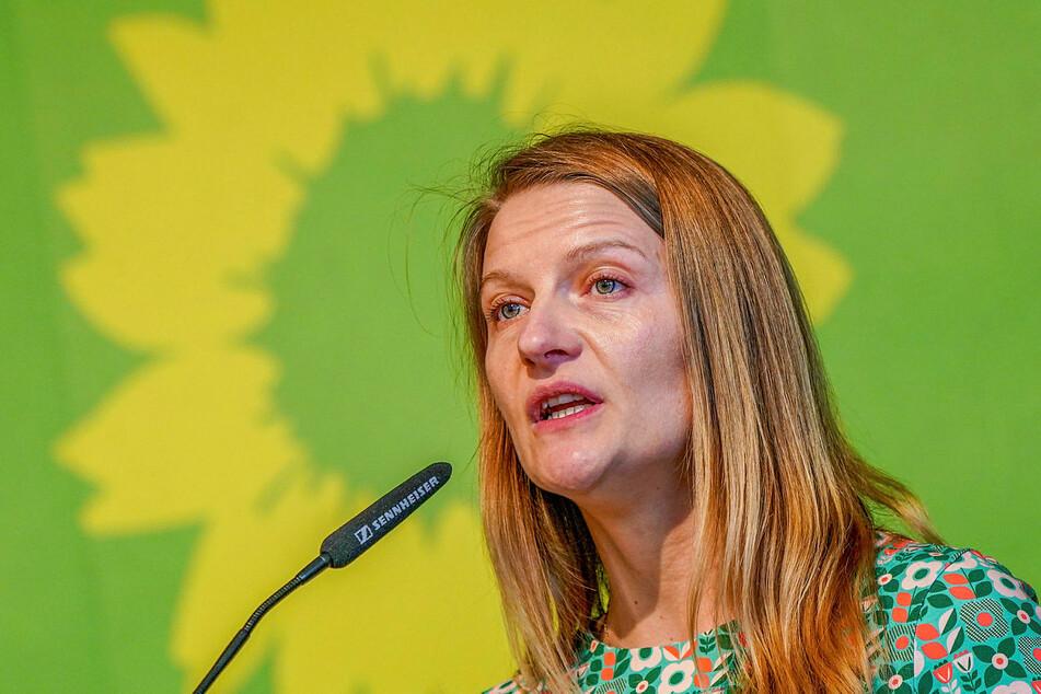Christin Furtenbacher, sächsische Grünen-Landeschefin.