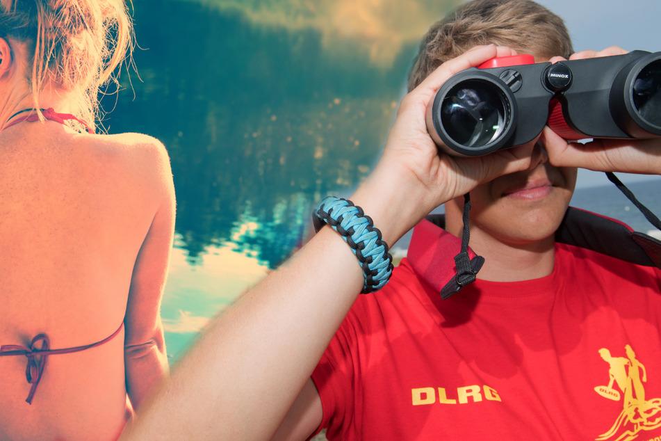 Sorgen für Sicherheit beim Baden: die DLRG und Wasserwacht des DRK. Auch in Sachsen werden mehrere Badeseen überwacht.