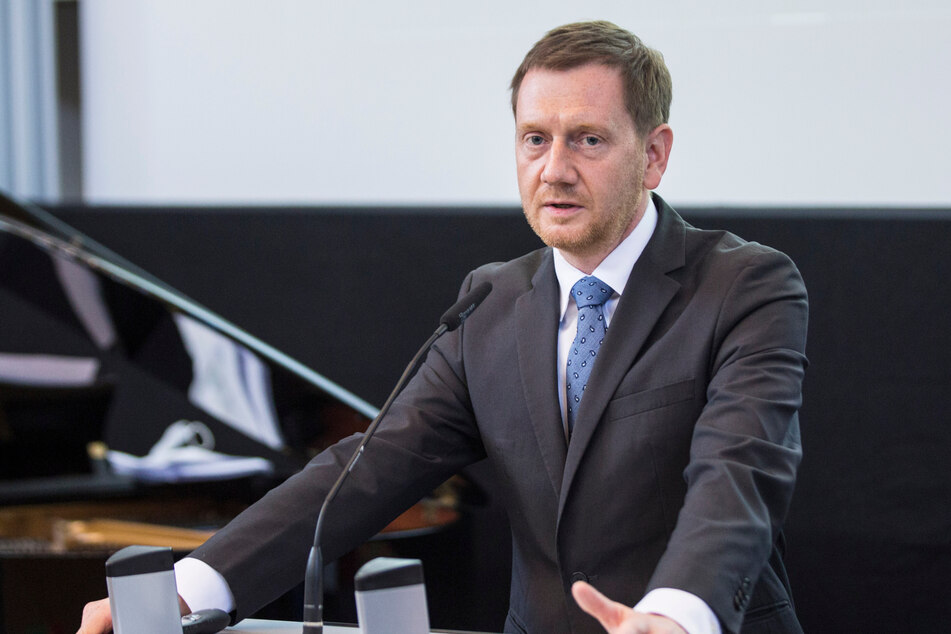 Sachsens Ministerpräsident Michael Kretschmer (46, CDU) wittert Gefahr.