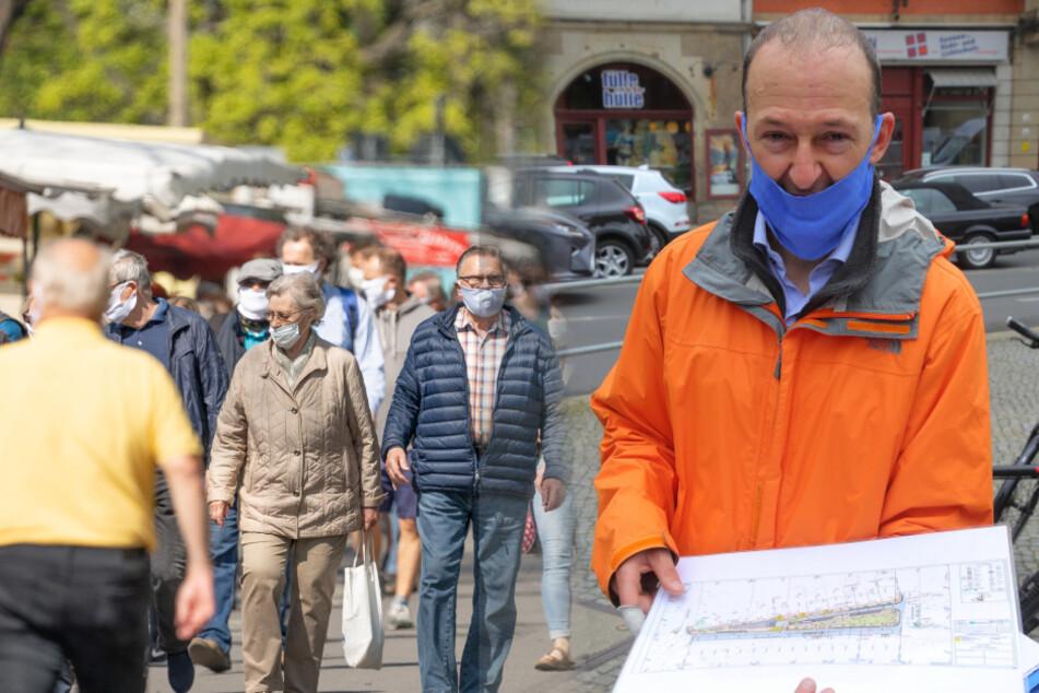 Dresden: Mehr Händler, keine Wachleute: Mehr Normalität auf dem Lingnermarkt