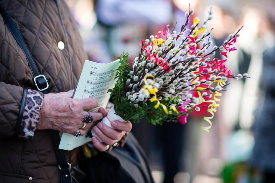 München: Palmsonntag: Gemeinden in Bayern werden kreativ