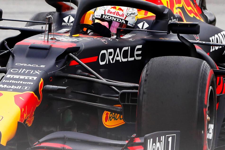 Max Verstappen (23) vom Team Red Bull schaffte es nur auf den zweiten Platz. Er fuhr jedoch die schnellste Runde.