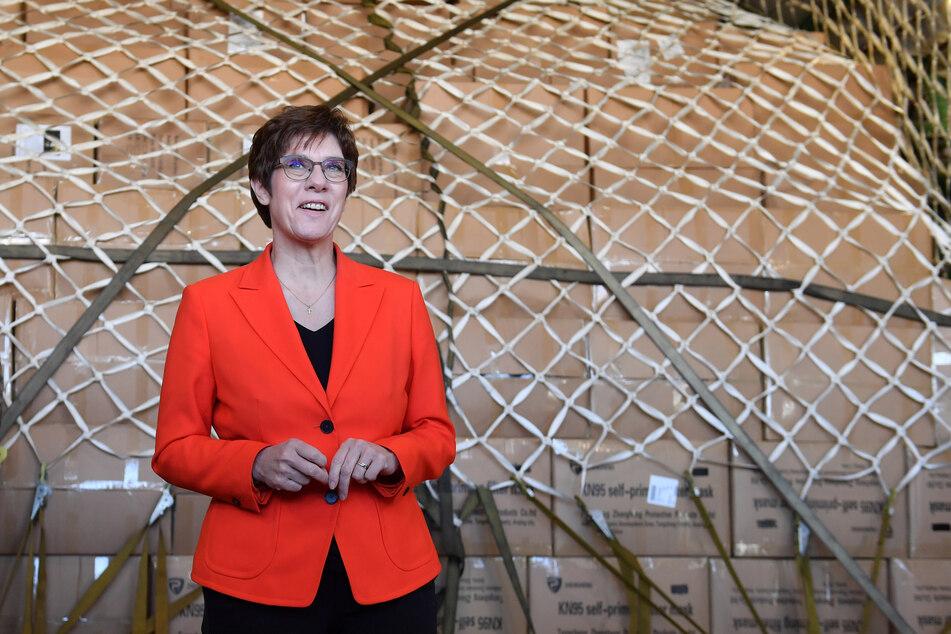 Die CDU-Vorsitzende Annegret Kramp-Karrenbauer.