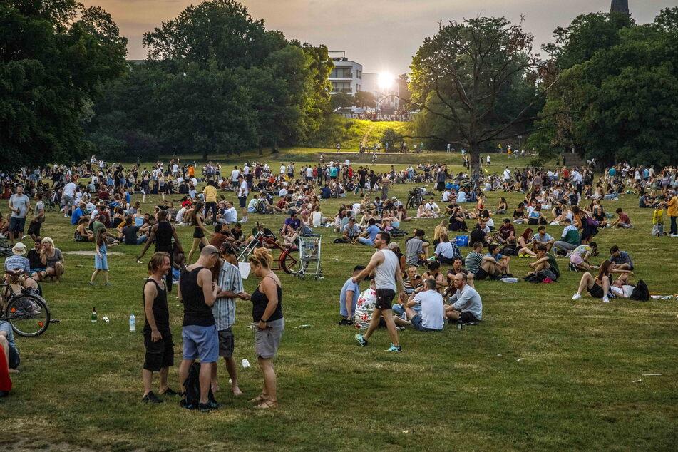 Das Leben findet wieder draußen statt. Und eben dort hat das Dresdner Ordnungsamt, wie im Alaunpark, nun wieder alle Hände voll zu tun.