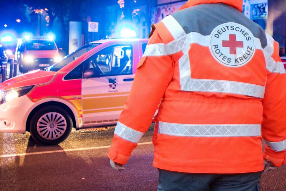 Unfall in Frankfurt-Fechenheim: Fahrer (40) schwer verletzt, war er betrunken?