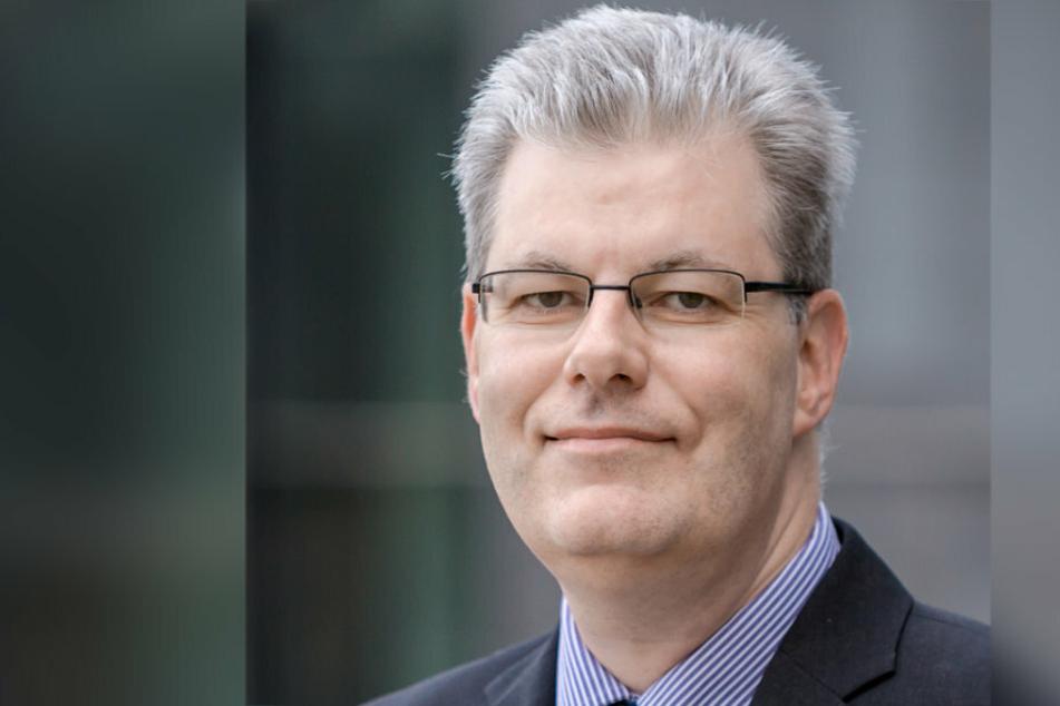 Wirtschaftswissenschaftler Ralph Wrobel. aus Zwickau.
